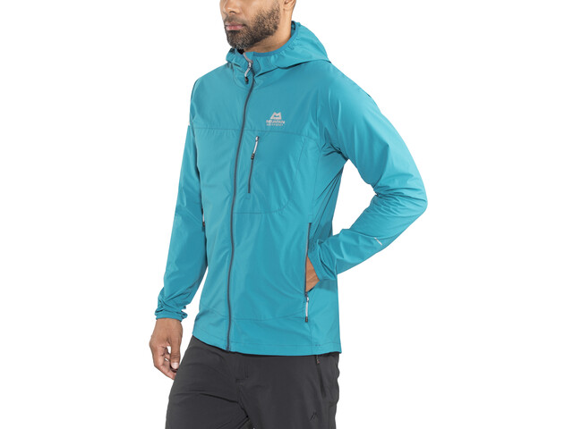 Mountain Equipment Echo Veste à capuche Homme, tasman blue